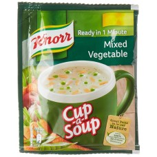 KNORR  CUP SOUP MIXED VEGETABLE 10GM