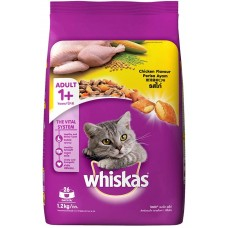 WhiskasDry Cat Food - Chicken Flavour, For Adult Cats, +1 Year