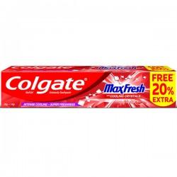 Colgate MaxFresh Anticavity Red Gel Toothpaste, Spicy Fresh (Free 20% Extra) 70 g