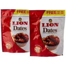 Lion Seeded Dates 500gm Refill (buy one Get one free)