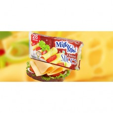 MILKY MIST Cheese Slices - 5