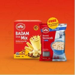 MTR Badam Drink Mix 200 g, Free - Roasted Vermicelli 400 g