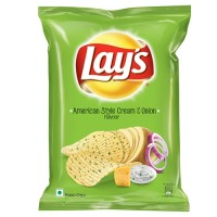 Lays American Style Cream & Onion Flavour
