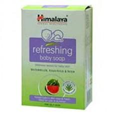HIMALAYA Refreshing Baby Soap - Watermelon, Khus-Khus &