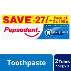 Pepsodent Germicheck 150+150g Save Rs 27