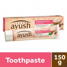 Ayush whitening toothpaste with rocksalt  150g
