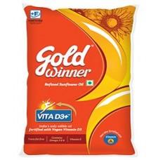 Gold winner refined  sunflower oil 200ml