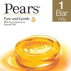Pears Pure & Gentle Bathing Bar 100 g