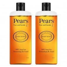 Pears Pure & Gentle Shower Gel 250 ml (Free Loofah)