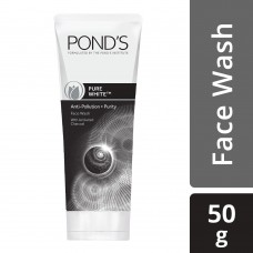 Pond's Pure White Anti Pollution Face Wash 50 g