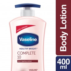 Vaseline Healthy Bright Complete 10 Body Lotion 400 ml