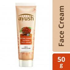 Lever Ayush Natural Fairness Saffron Face Cream 50 g