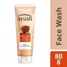 Lever Ayush Natural Fairness Saffron Face Wash 80 g
