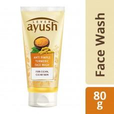 Lever Ayush Anti Pimple Turmeric Face Wash 80 g