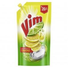 Vim Dishwash Gel, Lemon, 115 ml