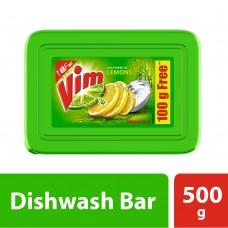 Vim Dishwash Bar, Lemon, 500 g