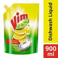 Vim Dishwash Gel, Lemon, 1 l