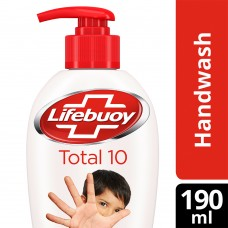 Lifebuoy Total 10 Germ Protection Handwash 190 ml With Refill Pouch 185 ml Free