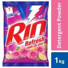 Rin Refresh Lemon & Rose Detergent Powder 1 kg