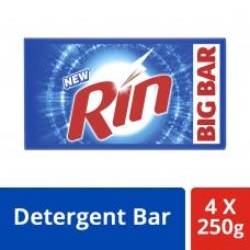 Rin Detergent Bar 4x250 g