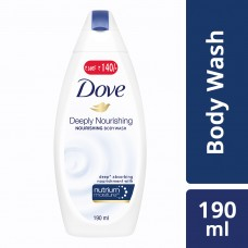 Dove Deeply Nourishing Body Wash 190 ml (Free Loofah)