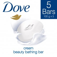 Dove Cream Beauty Bathing Bar 100 g (Buy 4 Get 1 Free)