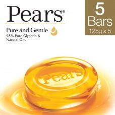 Pears Pure & Gentle Bathing Bar 125 g (Buy 4 Get 1 Free)