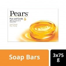 Pears Pure & Gentle Bathing Bar 75 g (Buy 3 Get 1 Free)