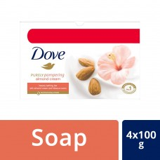 Dove Almond Cream Beauty Bathing Bar 100 g (Buy 3 Get 1)