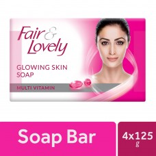 Fair & Lovely Multivitamin Glowing Skin Soap 125 g each (Buy 3 Get 1 Free)