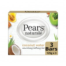 Pears Naturalé Coconut Nourishing Soap Bar, 125 g (Pack of 3)