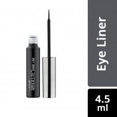 Lakme Absolute Shine Liquid Eye Liner, Black, 4.5 ml
