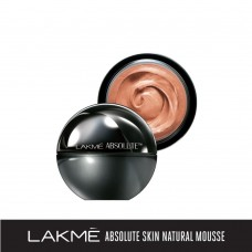 Lakme Absolute Skin Natural Mousse, Golden Medium 03, 25 g