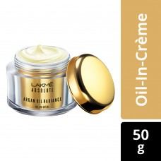 Lakme Absolute Argan Oil Radiance Oil-in-Creme, 50 g