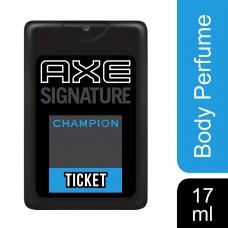 AXE Ticket Perfume, Champion, 17 ml