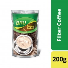 BRU Green Label Filter Coffee 200 g