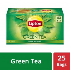Lipton Pure & Light Green Tea Bags, 25 PC